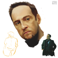 Derren Sketches by Girl-on-the-Moon