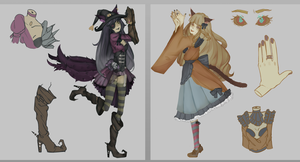 [OPEN 2/2]  AUCTION CHEAP ADOPTS by bubene