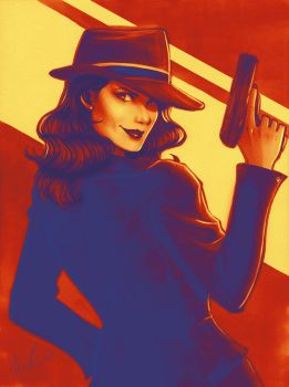 Agent Carter by Protokitty