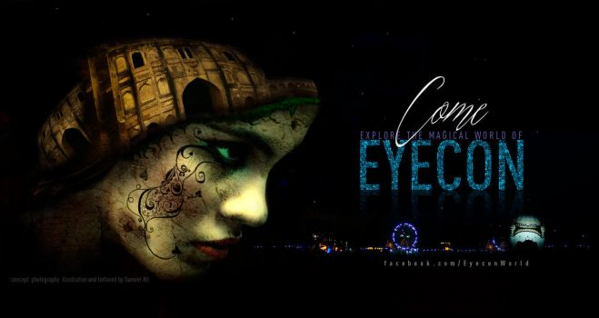 Magical World of Eyecon by sameer