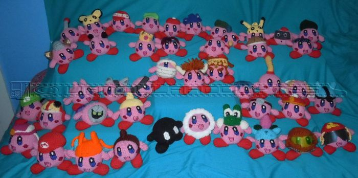 Fighting Kirby Team by VanillaAcolytes