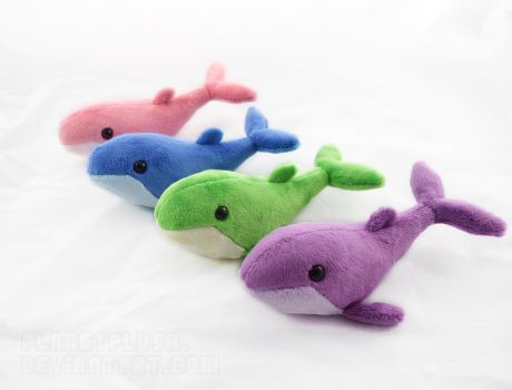 Baby Whales by PlanetPlush