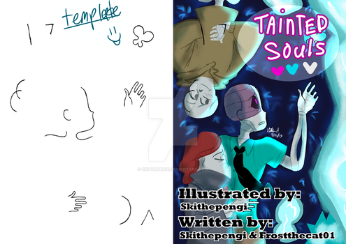 Tainted Souls Teaser + Template for dABirthday2017 by Skithepengi