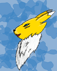 Renamon by mattdoylemedia