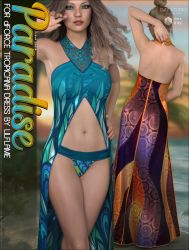 Paradise for dForce Tropicana Dress by cosmosue