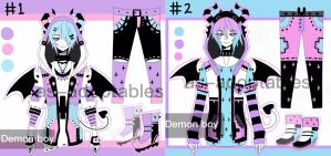 Pastel goth demon boys adoptables CLOSED by AS-Adoptables