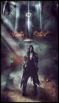 ARCHON: Archangel Vael - Forged In Dread by JLarenART