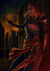 Knight-Commander Meredith by Neirr