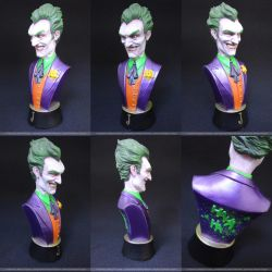 Joker Mini-Bust (painted version) by miguelzuppo
