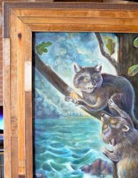RaccoonsFrame by miorats