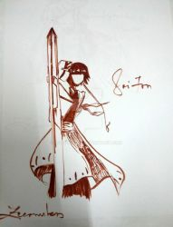 Soi Fon by ZeCountess