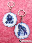 Here Comes a Thought - Stevonnie Keychains by DragonBeak