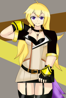 Yang Xiao Long (Hunter Version) by SonicHeroXD