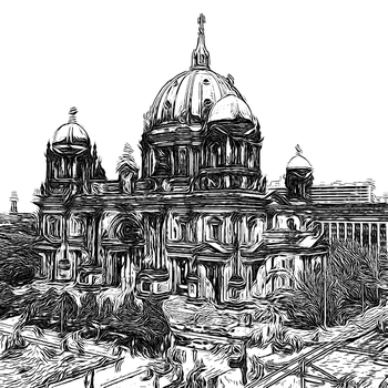 Berlin Series - Berlin Dom by Sigurd-Quast