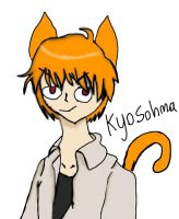Art Trade Kyo - fruits basket - in my art style :P by charaDetermine