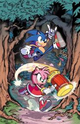 Sonic the Hedgehog 02 Cover (IDW) by herms85