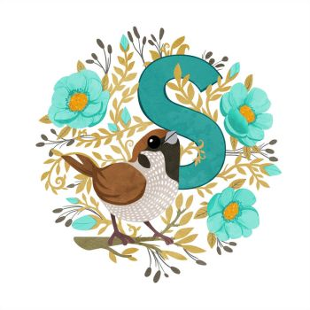 S is for Sparrow by TLCook