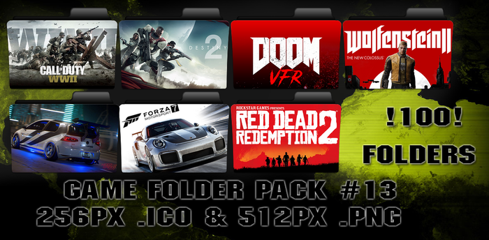 Game Folder Pack #13 by floxx001