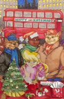 London Christmas by bugsytrex