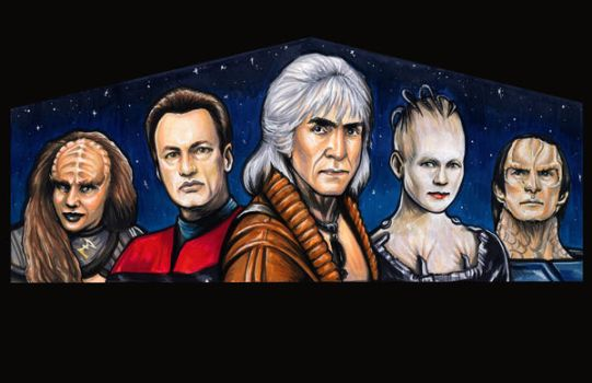 Star Trek Villains by AshleighPopplewell