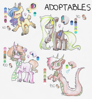 ADOPTABLES #3 (OPEN 1/4) by LynessSan
