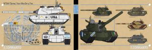 M75A4 Sentinel Main Battle Tank by MrAverage