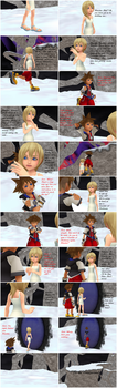 Sora x Namine - Stuck Forever - Getting Upwards by Zadornov151