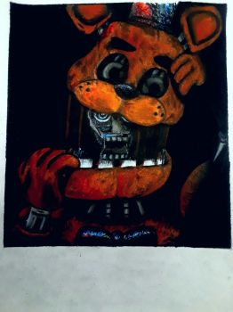 Freddy Fazbear Creepiness  by captaincrunch1950