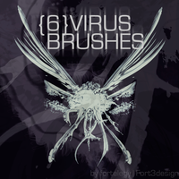 Virus Photoshop Brushes by Fortelegy