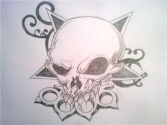 five finger death punch by TattooedAngrl