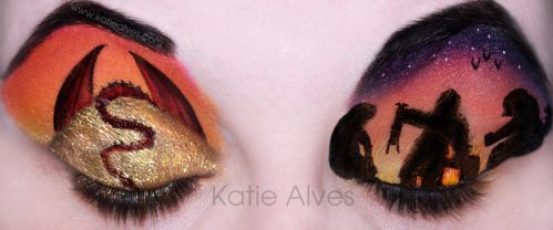 The Hobbit - Eyes by KatieAlves