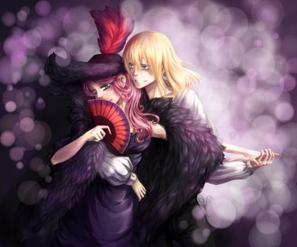 Dance with The Witch [Howl's moving castle fanart] by Soranea