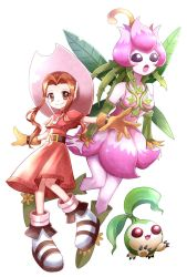 Digimon Fanart: Mimi Lillymon and Tanemon by PixiTales