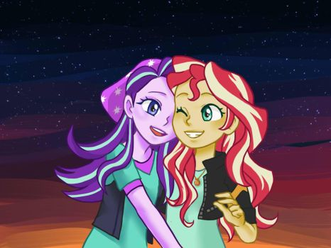 Sunset Starlight by faycoon