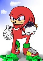 Sonic Snackies: Knuckles 03 by BellOfVictory