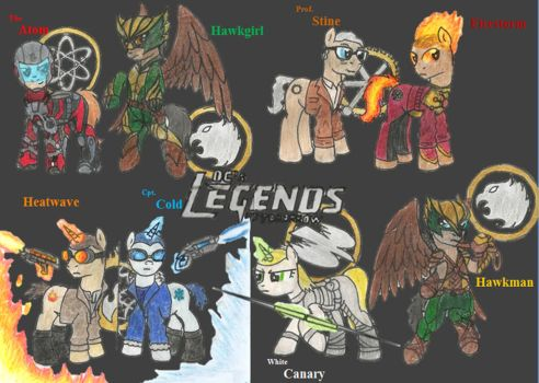 The Ledgends of Tomarow Ponyfied by Iven-Furrpaw
