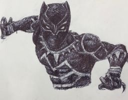 Black Panther  by swiftcross