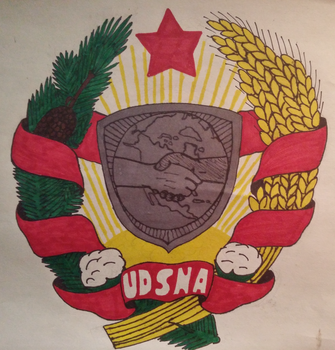 United Democratic States of America Coat of Arms. by RedAmerican1945