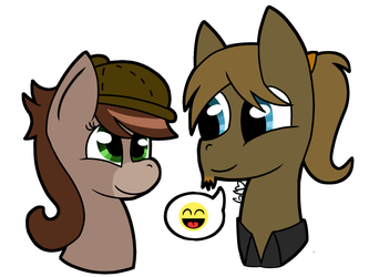 I have your hat (comm 1/4) by Trollan-gurl22