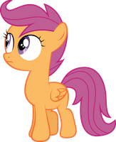 Scootaloo by PaulySentry