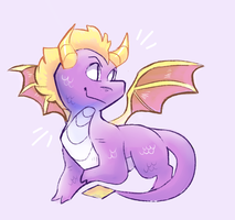 Spyro by TirelessFrog