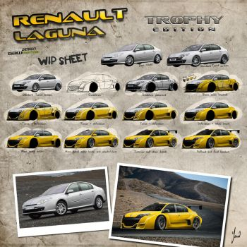 Renault Laguna SAW_TrophyWIP by yasiddesign