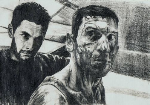 THE PUNISHER SPOILERS : Frank and Billy.  by nishaloveschocolate