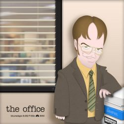Dwight Schrute by jarturotorres