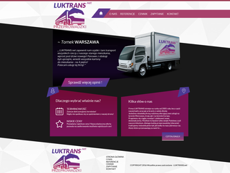 Luktrans.net - logistic and transport by miguslaw