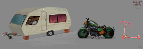 Vehicles by AnaSchatten