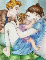A Cullen Family Portrait by jorge-wild-mage