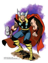 Classic Thor by LostonWallace