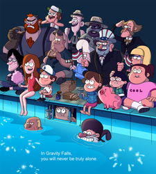 Gravity Falls The Deep End by markmak