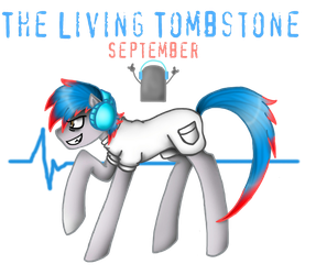 The Living Tombstone: September by NekoMellow